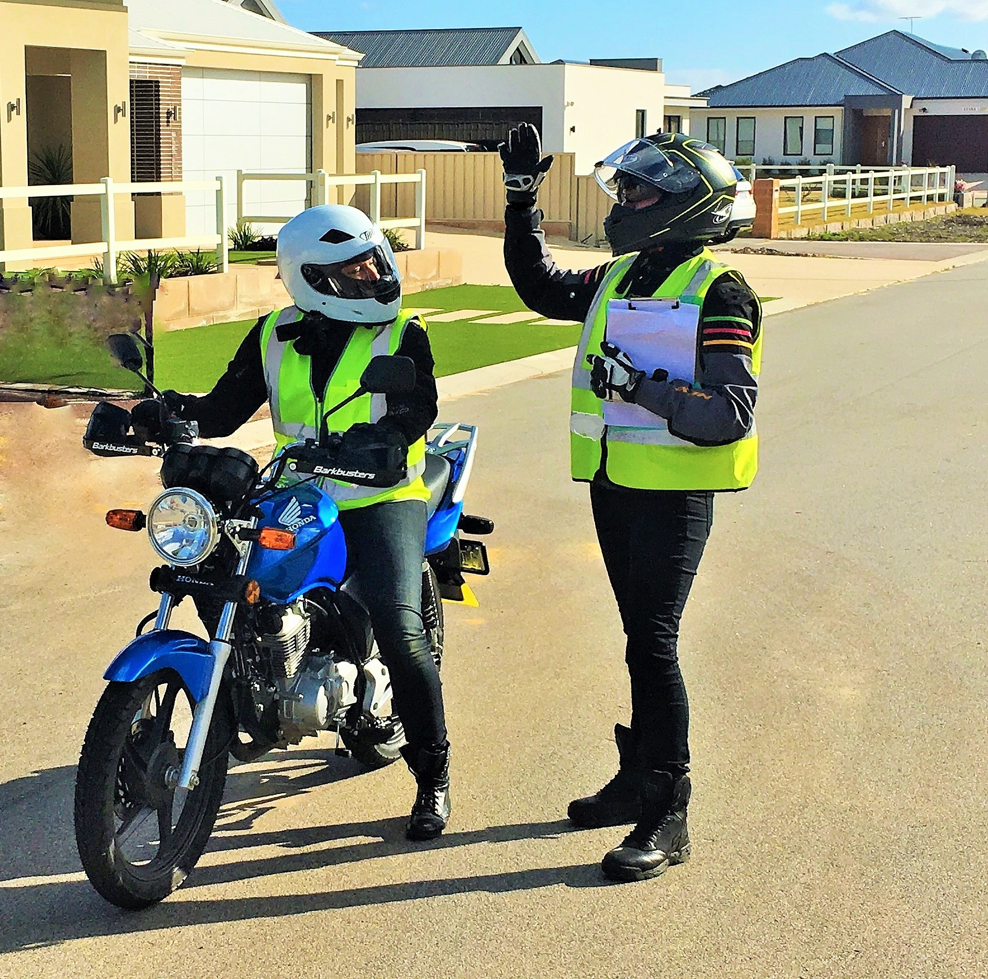 motorcycle lessons perth
