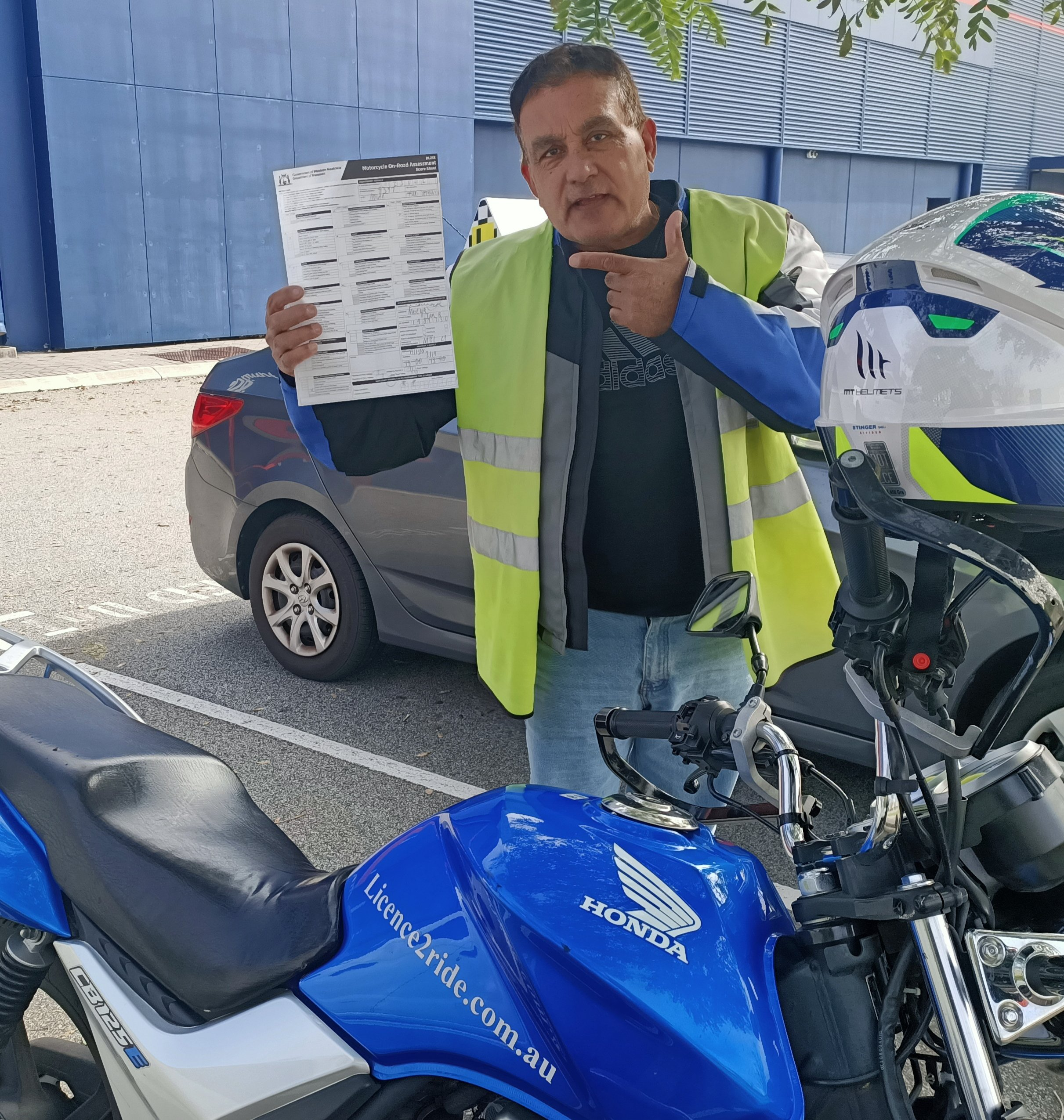 Pass your motorcycle PDA Perth / Licence 2 Ride
